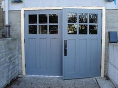 Hand-made custom carriage garage doors and REAL Carriage House Garage Doors by Vintage Garage Door, LLC in Seattle, WA.