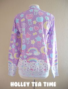 ✨ Pastel party lavender ✨ Lightweight Crew Neck Sweatshirt ☆ MADE TO ORDER - Thumbnail 3