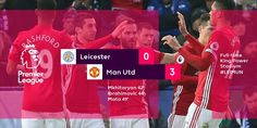 Manchester United have noe extended their unbeaten run after 3-0 win at Leicester   This is their 11th unbeaten run in 15+ Premier League ...