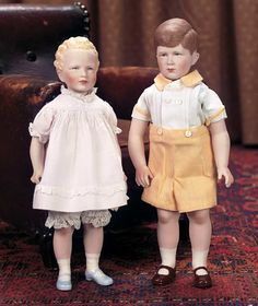 Princess Anne and Prince Charles ... Theriault's Antique Doll Auctions