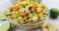 Mangue, crevettes et avocat : Une salsa estivale qui nous met l'eau à la bouche - Recettes - Ma Fourchette