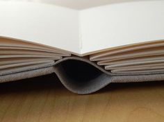Lizzie Made: Book Making Round-Up - rounded drop-spine design by Liz Gillum