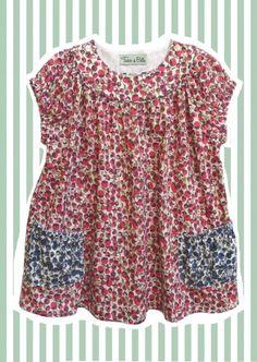 Pink 'Eliza's' Liberty Print Tunic