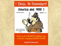 America and WW I (Grades 3-5)