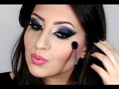 ♡ Airbrush Makeup - Dramatic Royal Blue ♡