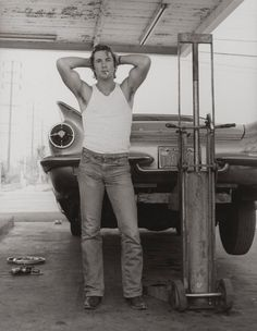 Richard Gere photographed by Herb Ritts in San Bernardino, 1977