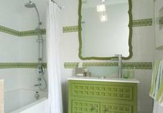 I don't care that it'll be dated too quickly, I still love this bathroom. (Sarah Richardson)