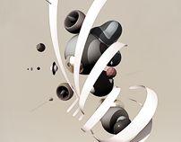 sa mo jung by Benjamin White, via Behance