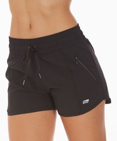 Look at this Black Blur of Speed Shorts on #zulily today!