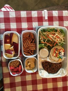 Packed lunch inspiration. All vegan all yummy