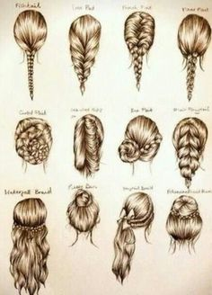 No Hairstyle Idea?? Check out the tutorials and get inspired.