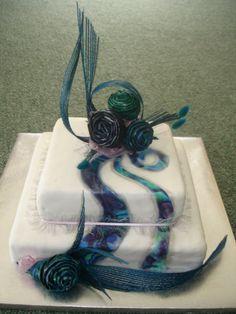 https://flic.kr/p/ynYh43 | paua and flax wedding cake