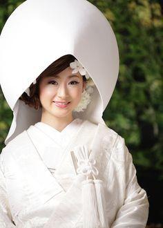 洋髪綿帽子ってかわいい   オレンジスタジオ名古屋