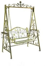 Wrought Iron Furniture, Wrought Iron Furniture direct from Foshan Longbang Metal Products Co. in CN Iron Furniture, Furniture Direct, Outdoor Furniture, Outdoor Decor, Home Swing, Porch Swing, Wrought Iron Fences, Iron Work, Toddler Bed