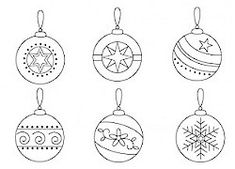 Ideas embroidery patterns christmas navidad for 2019 Felt Ornaments Patterns, Christmas Embroidery Patterns, Ornaments Design, Embroidery Patterns Free, Hand Embroidery Designs, Diy Christmas Ornaments, Craft Patterns, Paper Ornaments, Christmas Tree