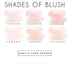blush // via the kinch life