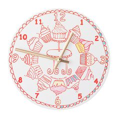 From creative art kits for kids to fun crafts that'll entertain them for hours, these cool and easy crafts for kids are the way to go. Easy Crafts For Kids, Fun Crafts, Tick Tock Clock, Vintage Cupcake, Diy Clock, Childrens Gifts, Kits For Kids, All Things Cute, Love Craft