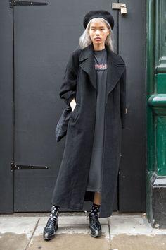 London Fashion Week SS17 Street Style: Day 1