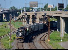 RailPictures.Net Photo: IC 1015 Illinois Central Railroad EMD SD70 at Montreal, Quebec, Canada by Michael Berry