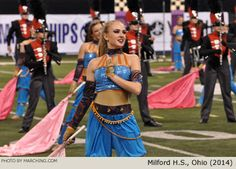 Milford High School Marching Band, Ohio - 2014