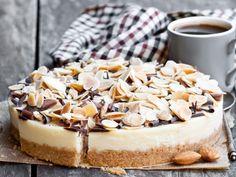 Tofurnik z migdałami czyli wege sernik Vegan Cheesecake, Fit, Shape
