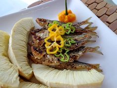 Breadfruit & Fried Sprat
