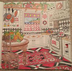 Kitchen - Colored by Cheryl Krumm