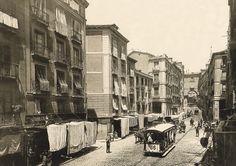 Toledo Street, 1890. Madrid, Spain  Laurent. Archivo Ruiz de Vernacci. Ministerio de Cultura (Madrid)