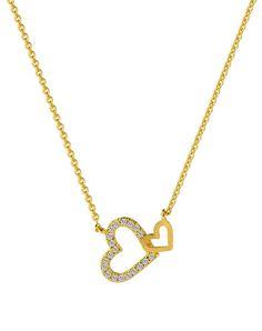 #BFCM #CyberMonday #VIPshop - #NEOGLORY Gold Heart Pendant Coreana Inside Out Necklace - AdoreWe.com