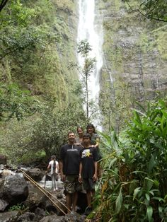Hike into the Bamboo Forrest to see the Waterfall :) - Hana, Maui