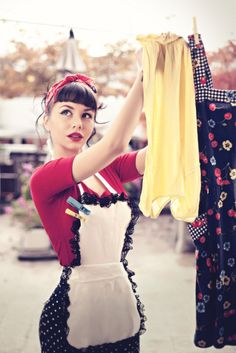 pin-up laundry