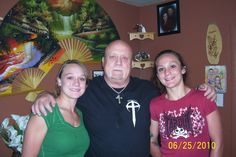 Skip and grand daughters Kacie and Lauren