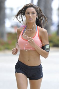 Inspiration. If only I looked this good while running.