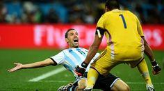 Argentina, en su final soñada 0-0 (PEN 2-4) Con sufrimiento, pero mucho oficio, y con Javier Mascherano y Sergio Romero en plan estelar, Argentina logró imponerse en los penales a Países Bajos para reservar su billete a la final de la Copa Mundial de la FIFA 2014™.