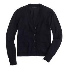Merino wool V-neck cardigan - Cardigans - Women's sweaters - J.Crew