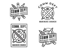 Logo concepts in Graphic Stamps: Illustrated