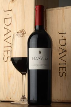 """J. Davies Cabernet Sauvignon 2010.   """"Dark perfumed aromas of boysenberry and plum combine with cocoa, vanilla cream, and tobacco. The palate is bold, complex and fruitful. Loganberry and black cherry mingle with Earl Grey tea and dark chocolate, and are seamlessly brought together with fine grain tannins that sustain a long and luxurious finish."""""""