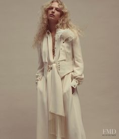 Shades Of White in WSJ with  - Fashion Editorial | Magazines | The FMD #lovefmd