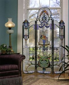 30 The Best Stained Glass Home Window Design Ideas - Cool Glass Art Designs Stained Glass Door, Stained Glass Designs, Stained Glass Projects, Stained Glass Patterns, Leaded Glass, Mosaic Glass, Fused Glass, Glass Beads, Stained Glass Panels