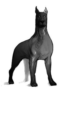 This is a brizzlehound, a character in the Keepers series by Lian Tanner. The first two books, Museum of Thieves and City of Lies are out now. The third, Path of Beasts should be out in October.
