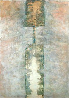 totem  100x70 cm   acryl auf leinwand                   2009    katja gohe