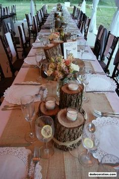 Rustic Wedding Décor Suggestions   Http://www.dedecoration.com/home