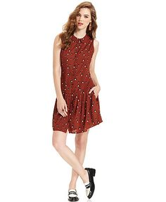 Bar III Dress, Sleeveless Printed - Womens Dresses - Macy's