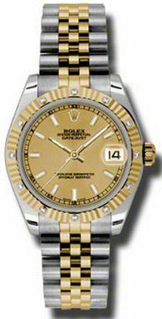 Rolex Datejust 31mm Steel & Gold 178313