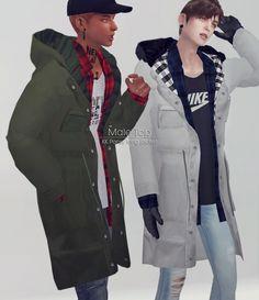 Pansy long jacket at KK's Sims4 – ooobsooo • Sims 4 Updates