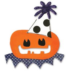Sizzix Originals Die - Pumpkin Toy $15.99