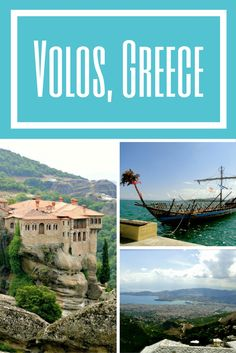 I traveled to Volos, Greece on a Black Sea cruise with Princess. During my fabulous day, I witnessed the hanging monasteries, Jason and the Argonaut's Argo ship, and much more history and beauty. Have you ever heard of Volos? Europe Travel Guide, Europe Destinations, Amazing Destinations, Travel Plan, Travel List, Travel Guides, Cruise Port, Cruise Travel, By Train