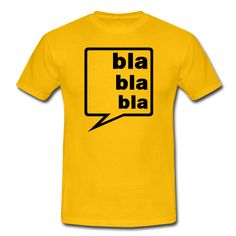 Bla bla bla in einer Sprechblase, meißt nur uninteressante Gespräche.