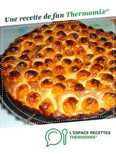 Tarte briochée aux mirabelles par Emelida. Une recette de fan à retrouver dans la catégorie Pâtisseries sucrées sur www.espace-recettes.fr, de Thermomix<sup>®</sup>.