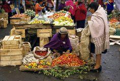Riobamba Market Ecuador - Grocery shopping (fresh, good food!)